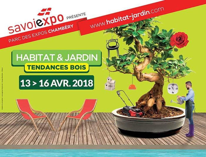 Salon Habitat et Jardin à Chambéry